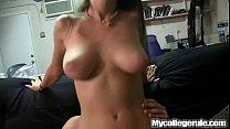 Mycollegerule Amateur Busty Coed On Cock thumbnail