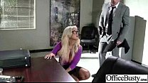 Busty Girl (bridgette) Get Hard Style Nailed In Office vid-09 Thumbnail