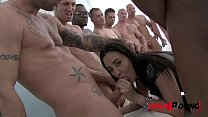 Crazy Hot Slut Chanel Lux Loves a Good Gangbang