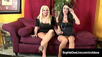 British Babe Sophie Dee & Jessica Jaymes Lick Their Pussies!