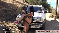Blonde police officer threesome Latina Babe Fucked By the Law video