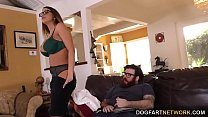 BBC Slut Brooklyn Chase Gives Special Treatment To Her Cuckold Client thumbnail