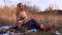 Naïve Blonde Rammed Outdoors and Filmed for the First Time Vorschaubild