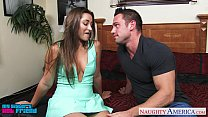 Brunette cutie Dani Daniels riding cock pornhub video