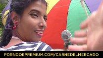Hot blowjob, fuck and facial with Latina babe Yamile Mil » malay free porn thumbnail
