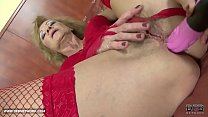 Interracial Porn - Granny likes it rough gets anal fucked and cumshot - 9Club.Top