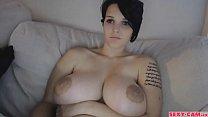 Gorgeous boobs girl webcam show - sexy-cam.fr image