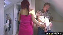 Aylin Diamond enjoys sucking Danny Ds big fat cock