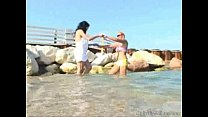 Shione Cooper & Nikita Valentin - Seaside Splashing