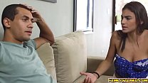 7413 Michelle Martinez fed by a real step bro big cock preview