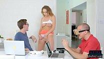 girlfriend cheats on her boyfriend after seducing his friend: lucky star porn thumbnail