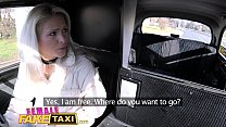Female Fake Taxi Innocent young tourist gets seduced in back of cab thumbnail