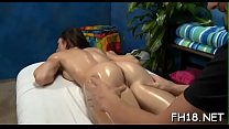Clean shaved pink snatch of breathtaking girl i...