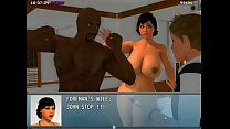 """Adult Game """"My New Life"""" - Walkthrough #06 - Maria, Jet and Sarah Quest's Thumb"""