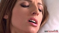 Morgan Moon Sexy brunette climaxing hard