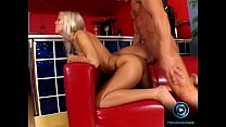 Bumtastic Angel Blonde sits on a massive dong f... Thumbnail