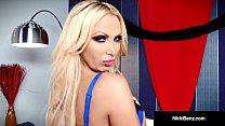 Penthouse Pet Nikki Benz Finger Bangs Her Hot S...