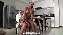 Teen Filipina Maid Will Do Anything To Please H