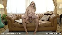 Saggy Titted Granny Fucks A Handsome Young Guy preview image