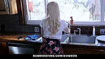 Submissived - Cute Blonde Teen Gets Filled with Girthy Cock
