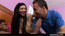 cuckold humiliation interracial sissy orgy wife big cock milf slut sissyhorns.com pornhub video