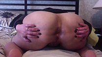 Florence Dixon Spreading A Gaping Ass Wide For