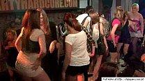 Fresh lovely girls in orgy