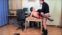 Bad doctor bangs his secretary in the medical o... thumb