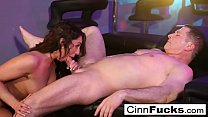 12709 Christiana Cinn fucks like a madwoman and takes a load to the face! preview