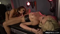 Squirter Adriana Chechik and TS Queen Aubrey Kate