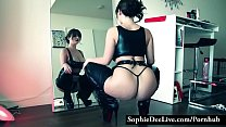 Sophie Dee sensual striptease thumbnail