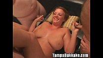 Teen taking care all bukkake crew Thumbnail