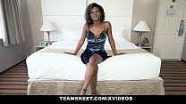 TeenyBlack - Hot Ebony Teen Gets Railed in Doggy Thumbnail