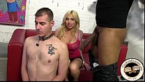 Big tit blonde wife meets a black bull for a fuck - 9Club.Top