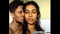 Indian GF gives a blowjob in the shower