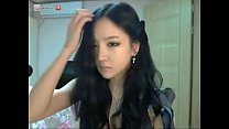 Hot korean girl on cam