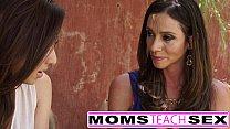Moms Teach Sex - Step mom fucks daughters boyfriend