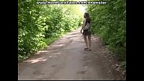 hera---  a hot school girl In the forest the co...
