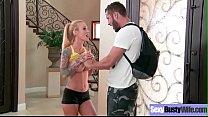 Hot Big Tits Wife (Sarah Jessie) Love Hardcore sex On Tape video-20