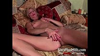 Mature slut takes her adult toy preview image