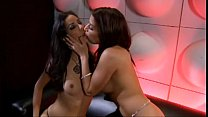 Lesbian stripper seduces girl Preview