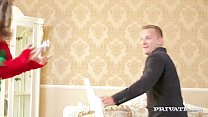 7694 Skinny Teen Gina Gerson Gets DP For Christmas preview