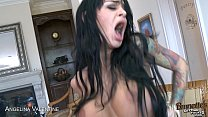 Tattooed Angelina Valentine gets pussy fucked preview image