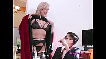 Cougar Blows Her Daughters Well Endowed Classmate