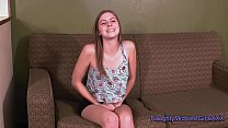 Chelcee - Barely 18 First Porn thumbnail