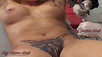 Extrme Model Alira Astro Gets Her Pussy Tattooed
