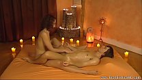 Relaxing Him With Handjob Stimulation