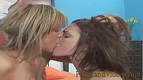 hot teens Mia and Charley don't fuck with boys