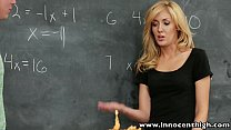 InnocentHigh Sexy blonde schoolgirl banged in t...