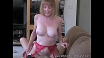 Horny Step Granmother Plus Cock